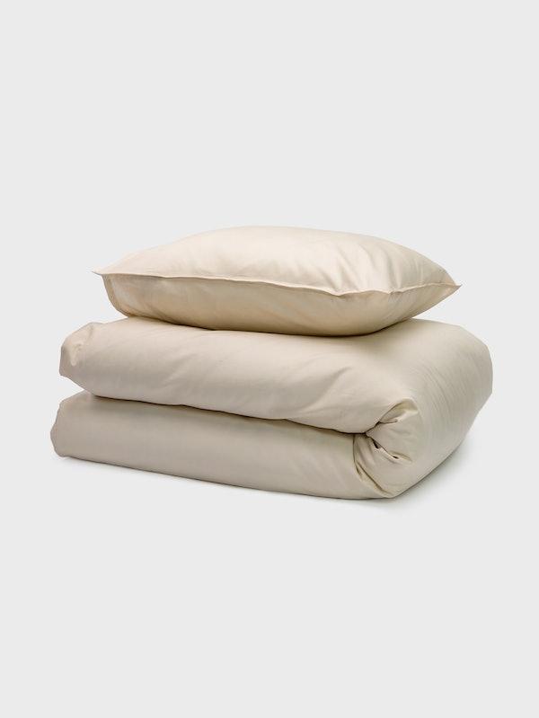 CURA Bettbezug-Set Baumwolle